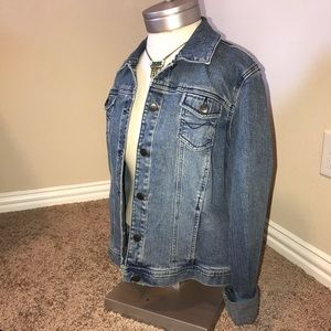 BRAND NEW Blue Jean Jacket BY Style & Co.